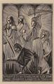 Christ and the Money Changers by Eric Gill