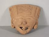 Remojades Smiling Head of a Ritual Performer by
