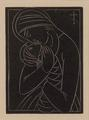 Madonna and Child: The Shrimp  by Eric Gill