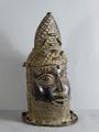 Benin Bronze head by