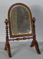 Georgian miniature<br/> dressing table mirror by