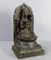Old bronze seated <br/> Buddhist figure by