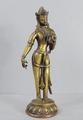Old Nepalese bronze <br/> standing figure by